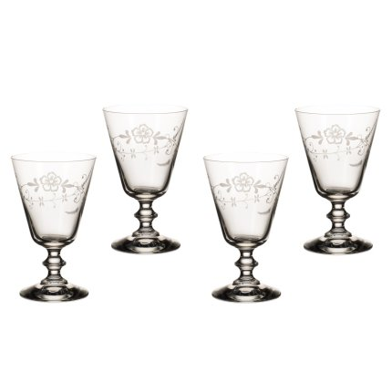 Set 4 pahare vin rosu Villeroy & Boch Old Luxembourg 148mm, 0,24 litri