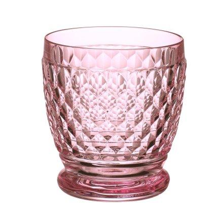 Pahar apa Villeroy & Boch Boston Tumbler roz 100mm, 0,33 litri