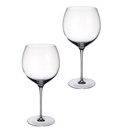 Set 2 pahare vin rosu Villeroy & Boch Allegorie Premium Burgundy Grand Cru 262mm, 1.09 litri