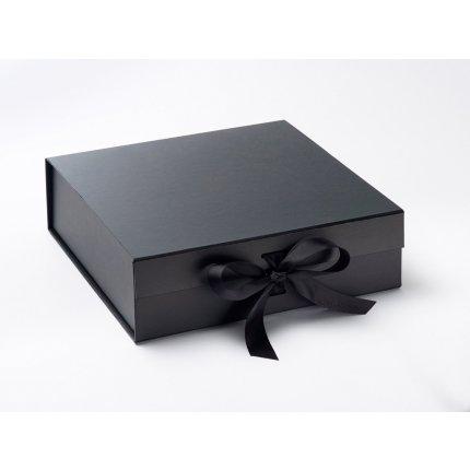 Cutie cadou FoldaBox Large, inchidere magnetica si fundita, Black