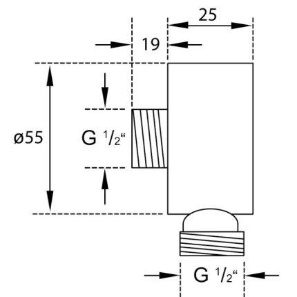 Conector FixFit Steinberg Triple One