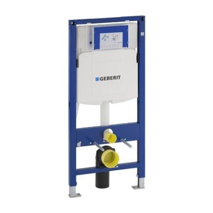 Rezervor incastrat Geberit Duofix Sigma UP320 de 12 cm grosime cu cadru si actionare frontala, H112 cm