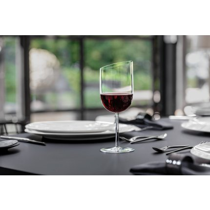 Set 4 pahare vin rosu Villeroy & Boch New Moon 0.41 litri