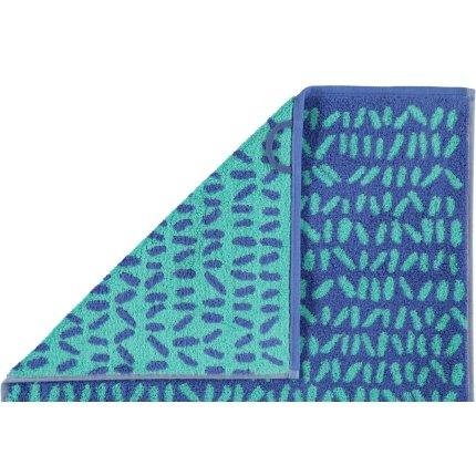 Prosop baie Cawo Code Allover 70x140cm, 14 albastru safir