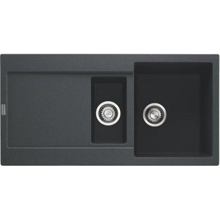 Chiuveta fragranite Franke Maris MRG 651 reversibila 970x500 tehnologie Sanitized Nero