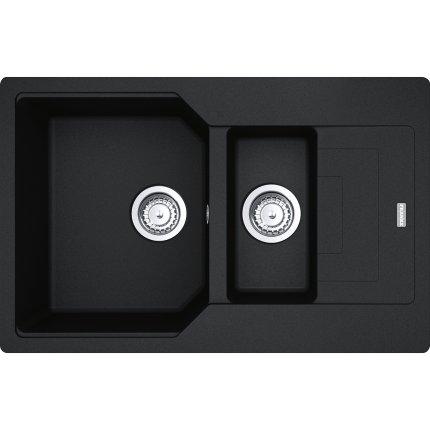 Chiuveta Franke fragranite Urban UBG 651-78, 780x500mm, Nero