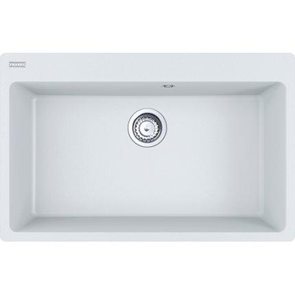 Chiuveta bucatarie fragranite Franke Centro CNG 610/210-73, 780x500mm, Bianco