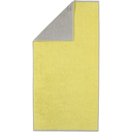 Prosop baie Cawo Code Doubleface 70x140cm, 75 lemon