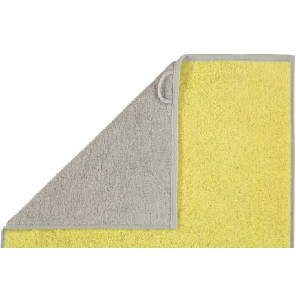 Prosop baie Cawo Code Doubleface 50x100cm, 75 lemon