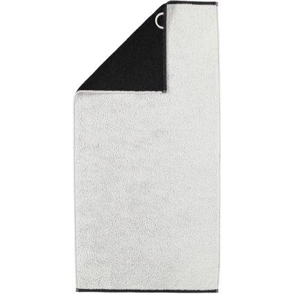Prosop baie Cawo Code Doubleface 50x100cm, 79 silver