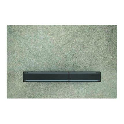 Clapeta actionare Geberit Sigma50, beton - crom negru