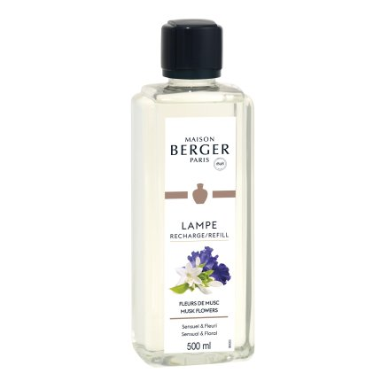 Parfum pentru lampa catalitica Berger Fleurs de Musc 500ml