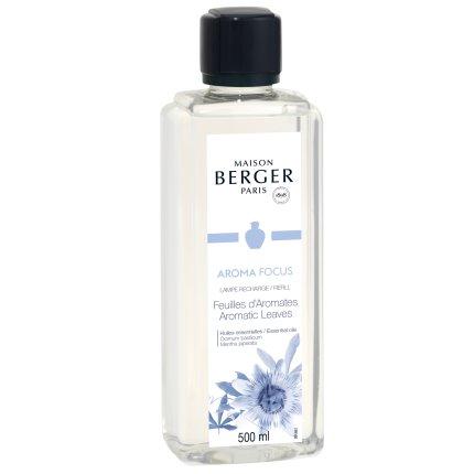 Parfum pentru lampa catalitica Berger Aroma Focus  Aromatic Leaves 500ml