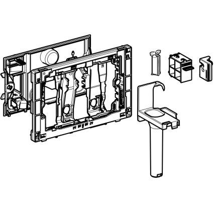 Modul Geberit Duofresh Stick pentru rezervor incastrat Sigma 12cm Gri antracit