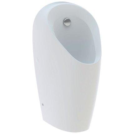 Urinal Geberit Selva pentru actionare electronica incastrata, alimentare prin spate