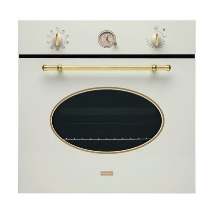 Set Franke Classic Line Panna: cuptor incorporabil CL 85 M PW 66 litri + plita gaz FHCL 604 3G TC PW C cu 4 arzatoare + hota decorativa PW 70 90cm