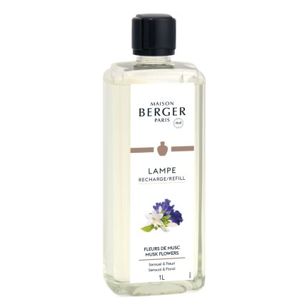 Parfum pentru lampa catalitica Berger Fleurs de Musc 1000ml