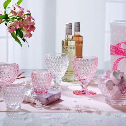 Pahar apa Villeroy & Boch Boston Tumbler roz 144mm, 0,40 litri