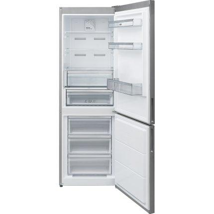 Combina frigorifica Franke FCB 340 NF XS E NoFrost, 331 litri net, Clasa A++, Inox