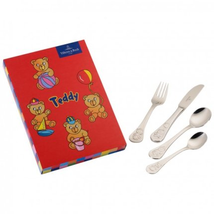 Set tacamuri copii Villeroy & Boch Teddy 4 piese