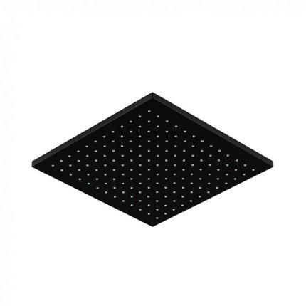 Palarie dus Steinberg seria 120 Matt Black 300x300x8 mm