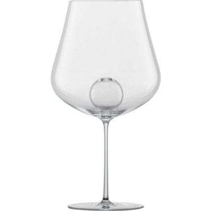Set 2 pahare vin rosu Zwiesel Glas Air Sense Burgundy, design Bernadotte & Kylberg, handmade, 796ml