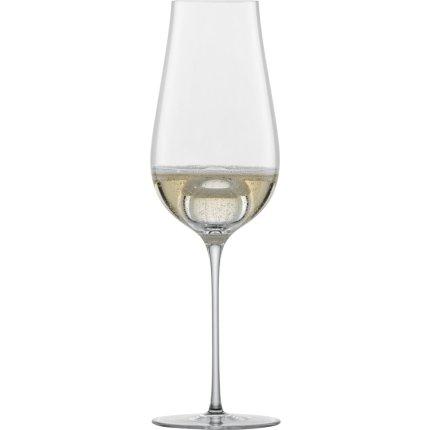 Set 2 pahare sampanie Zwiesel Glas Air Sense, design Bernadotte & Kylberg, handmade, 331ml