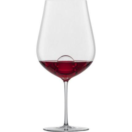 Set 2 pahare vin rosu Zwiesel Glas Air Sense Bordeaux, design Bernadotte & Kylberg, handmade, 843ml