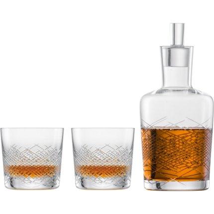 Set Zwiesel Glas Bar Premium No.2 Whisky, design Charles Schumann, handmade, carafa 500ml si 2 pahare 397ml