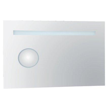 Oglinda cu oglinda cosmetics Bemeta 90x60x3.5cm IP44, iluminare LED, senzor miscare