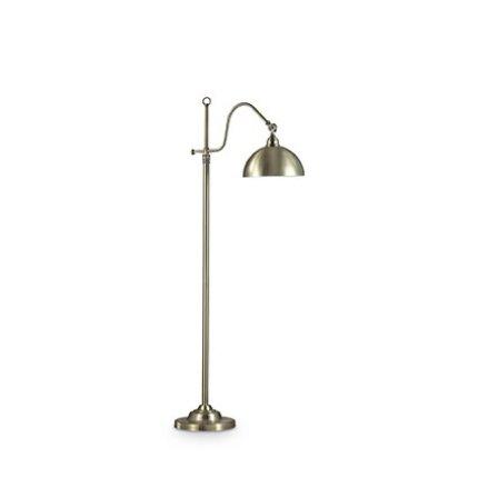 Lampadar Ideal Lux Amsterdam PT1, 1x60W, 25x137-168cm, bronz