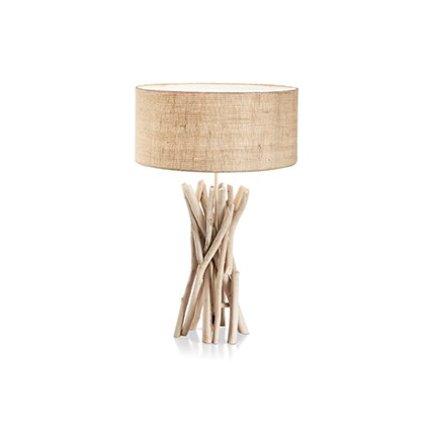 Veioza Ideal Lux Driftwood TL1, 1x60W, 40x52cm