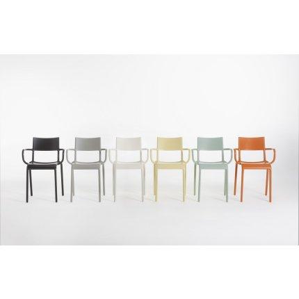 Scaun Kartell Generic A design Philippe Starck, gri