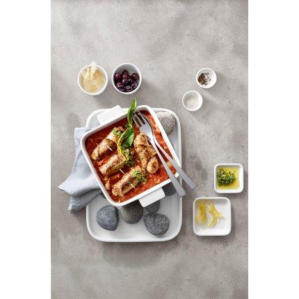 Vas ceramic patrat Villeroy & Boch Cooking Elements 21x21cm