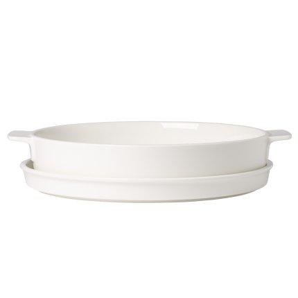 Vas ceramic rotund cu capac Villeroy & Boch Cooking Elements 28cm
