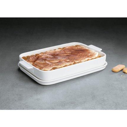 Vas ceramic rectangular cu capac Villeroy & Boch Cooking Elements 34x24cm