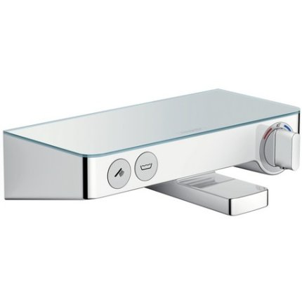 Baterie cada termostatata Hansgrohe Tablet Select 300, crom-alb