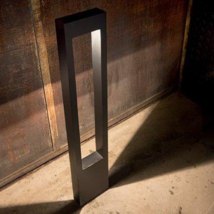 Lampadar de exterior Ideal Lux Vega PT1, 1c15W G9, 15x80x5cm, alb