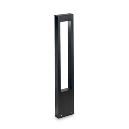 Lampadar de exterior Ideal Lux Vega PT1, 1c15W G9, 15x80x5cm, negru