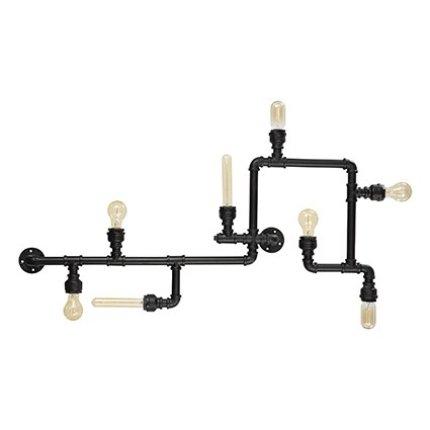 Plafoniera Ideal Lux Plumber PL8, 8x42W, 110.5x10x56cm