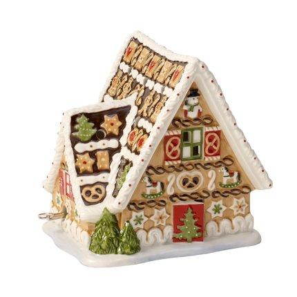 Decoratiune Villeroy & Boch Christmas Toys Gingerbread House 16x13x16cm