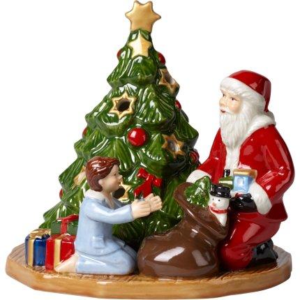 Suport lumanari Villeroy & Boch Christmas Toys Gift Giving 14,5x14x13,5cm