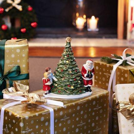 Decoratiune Villeroy & Boch Christmas Toys Santa on Tree 20x17x23cm