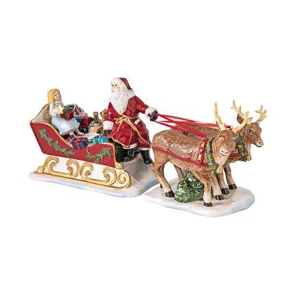 Decoratiune Villeroy & Boch Christmas Toys Sleigh Nostalgia 36x14cm