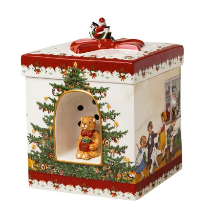Cutiuta decorativa Villeroy & Boch Christmas Toys Kids 17x17x21,5cm