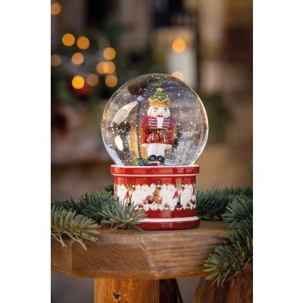 Decoratiune Villeroy & Boch Christmas Toys Snow Globe Nutcracker 13x13x17cm