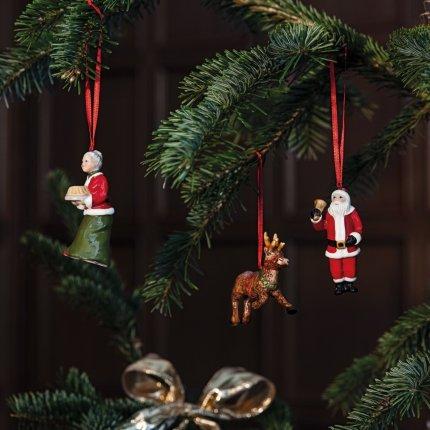 Set 3 decoratiuni brad Villeroy & Boch Nostalgic Ornaments North Pole Express 9,5cm