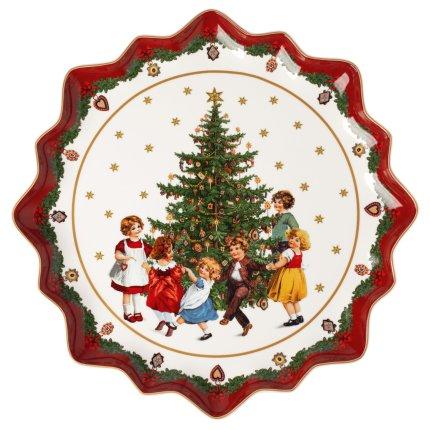 Platou Villeroy & Boch Toys Fantasy Pastry Kids Dancing 39cm