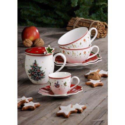 Ceasca si farfuriuta cafea Villeroy & Boch Toys Delight 0,2litri, alb