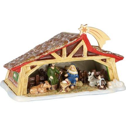 Decoratiune Villeroy & Boch Christmas Toys Memory Nativity 27x16cm